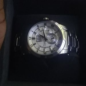 Seiko Premier kinetic date watch SNP091P1